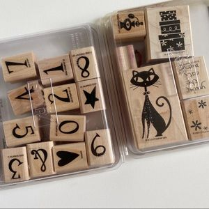STAMPIN UP Cool Cat Stamp Sets Numbers